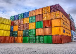 Container-farbig
