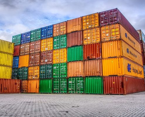 Container-farbig
