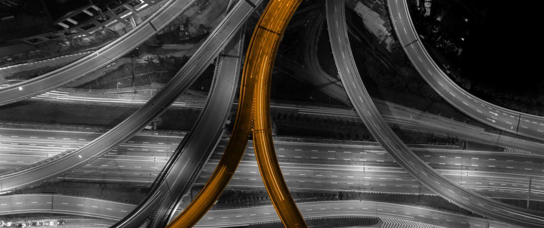 Infrastruktur-Orange
